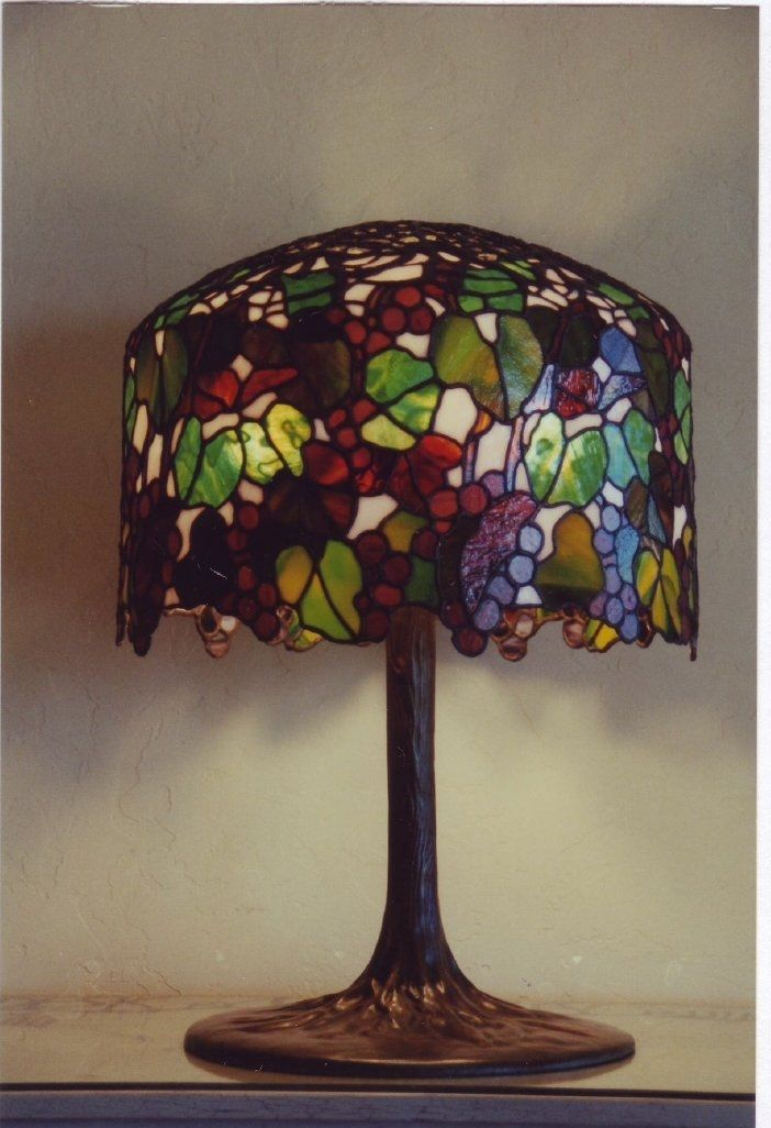Handmade Tiffany Lamps by Leblanc Stained Glass Studio ...