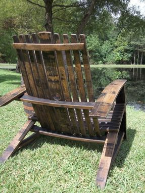 Custom Made Whiskey Barrel Chair
