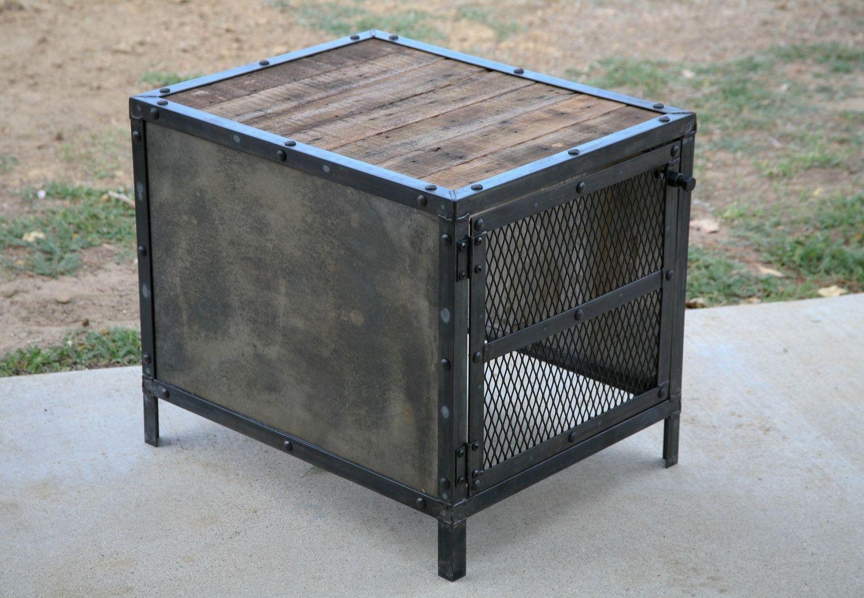 buy a custom subwoofer enclosure vintage modern industrial design reclaimed wood. Black Bedroom Furniture Sets. Home Design Ideas