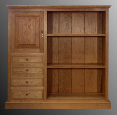 Custom Made Shaker Style Bookcase
