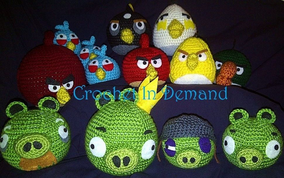 How to crochet CHUCK from angry birds Amigurumi | Eorld Of ... | 609x971