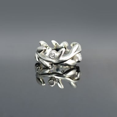 Custom Made Leaf Ring