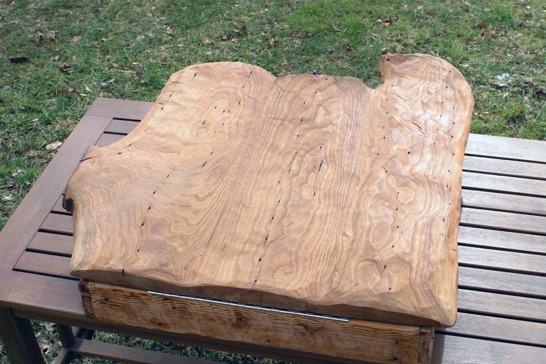 Custom Reclaimed Chestnut Dartboard Box By Tim Sway