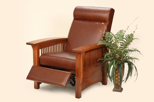 Custom Made Mission Comfort Recliner