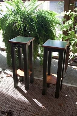 Custom Made Plant Stands Reclaimed Wood