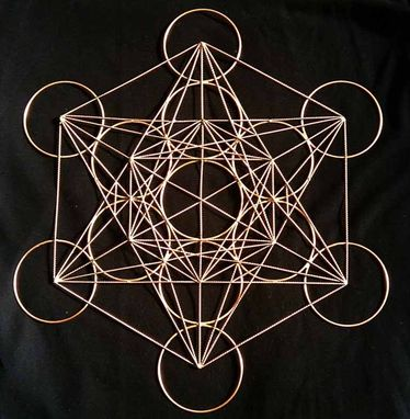 "Custom Made 15"" Metatrons Cube"