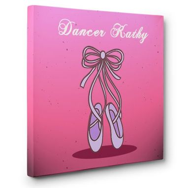 Custom Made Ballerina Canvas Wall Art