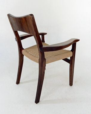 Custom Made Danish Cord Dining Chair