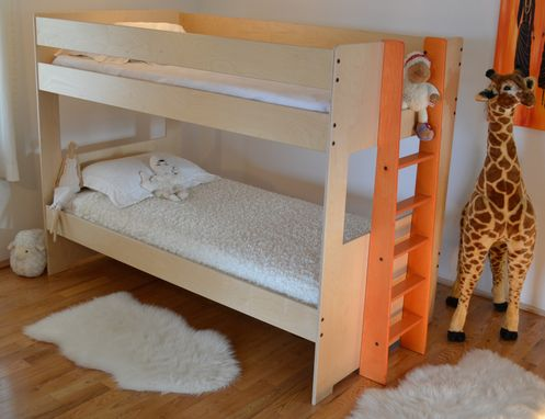 Custom Made Twin Bunk Bed