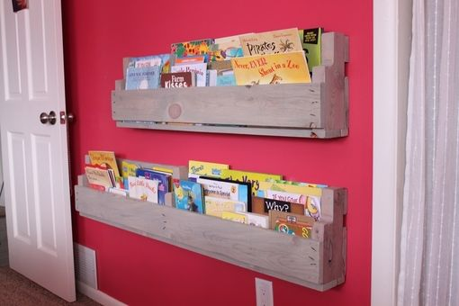 Custom Made Pallet Style Book Shelf