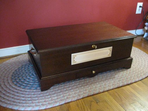 Custom Made Custom Memorial/ Keepsake Chest