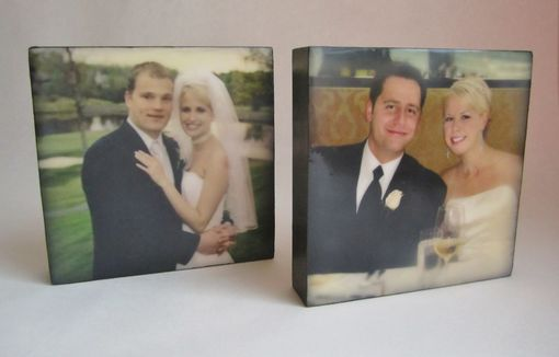 Custom Made Wedding Portrait With Encaustic Wax