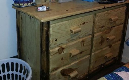 Custom Made Log Dresser
