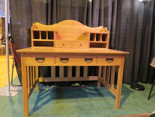Custom Made Mission Writing Desk