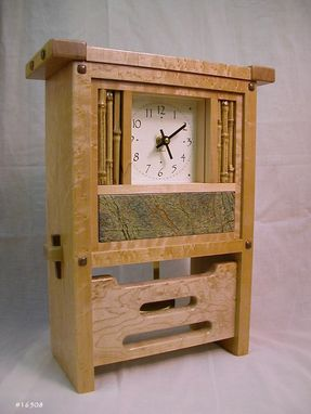 Custom Made Mantle Clocks - Craftsman And Contemporary