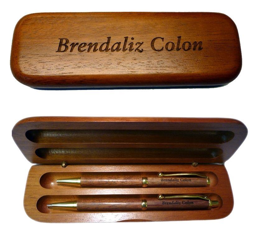 Personalized Pens Pen Box