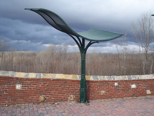 Custom Made Powder Coated Steel Sun Shade