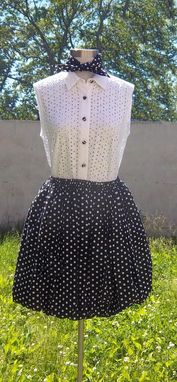 Custom Made Bulb Skirt And/Or Strapless Blouse.