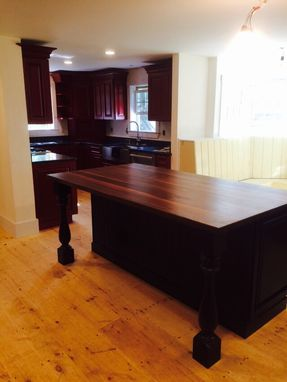 Custom Made Kitchen Island Tops