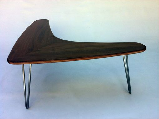 Buy A Custom Made Boomerang Coffee Table W Hairpin Legs