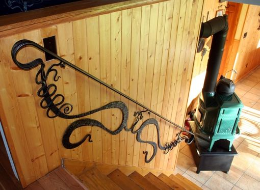 Custom Made Art Nouveau Handrail And Others