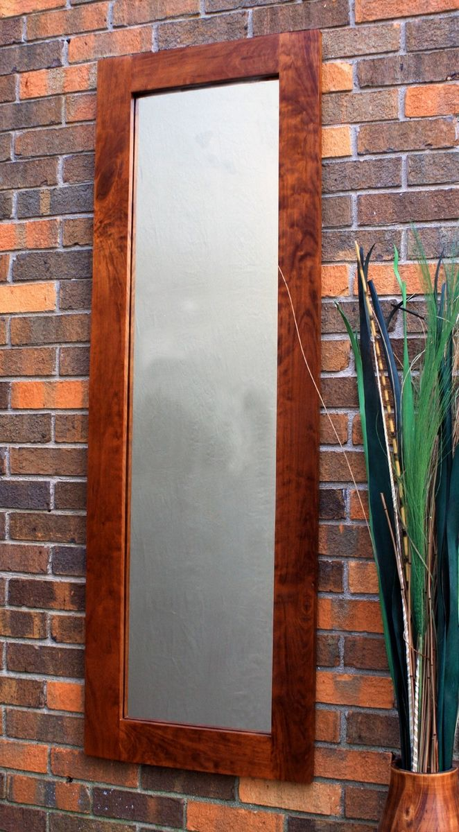 Hand Made Full Length Rustic Cherry Framed Mirror