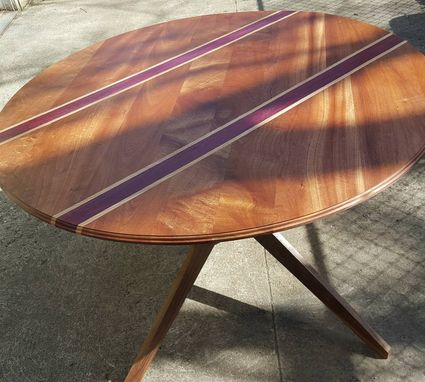 Custom Made Mid-Century Inspired Custom Round Table