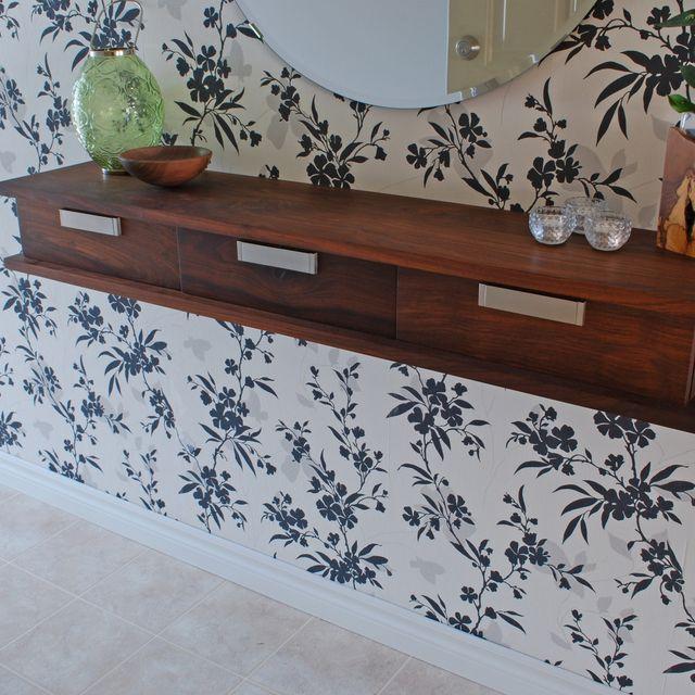 Custom Walnut Floating Wall Shelf By Clark Wood Creations Custommade