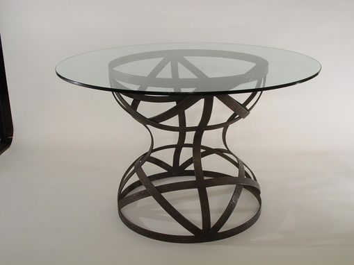 Custom Made Hour Glass Table Base