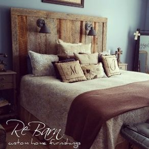 Custom Bedroom   CustomMade com Barnwood Headboard  Gage Collection  by Brannon McCaleb. Custom Bedroom Furniture. Home Design Ideas
