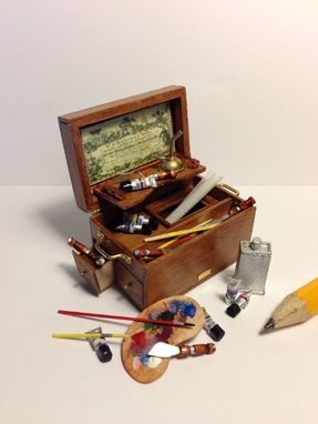 Custom Made Artist Kit In Miniature