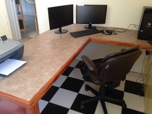 Custom Made Custom Home Office Desk