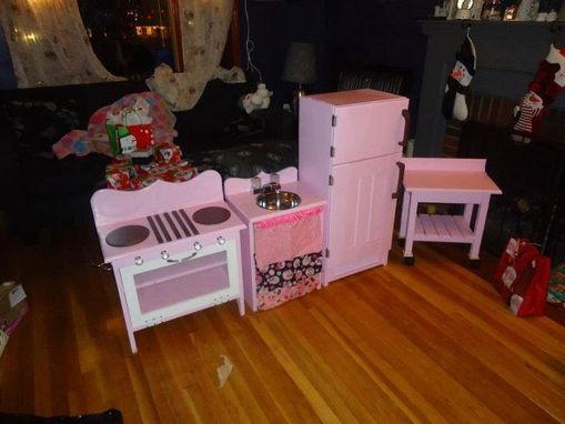 Custom Made Children's Play Kitchen