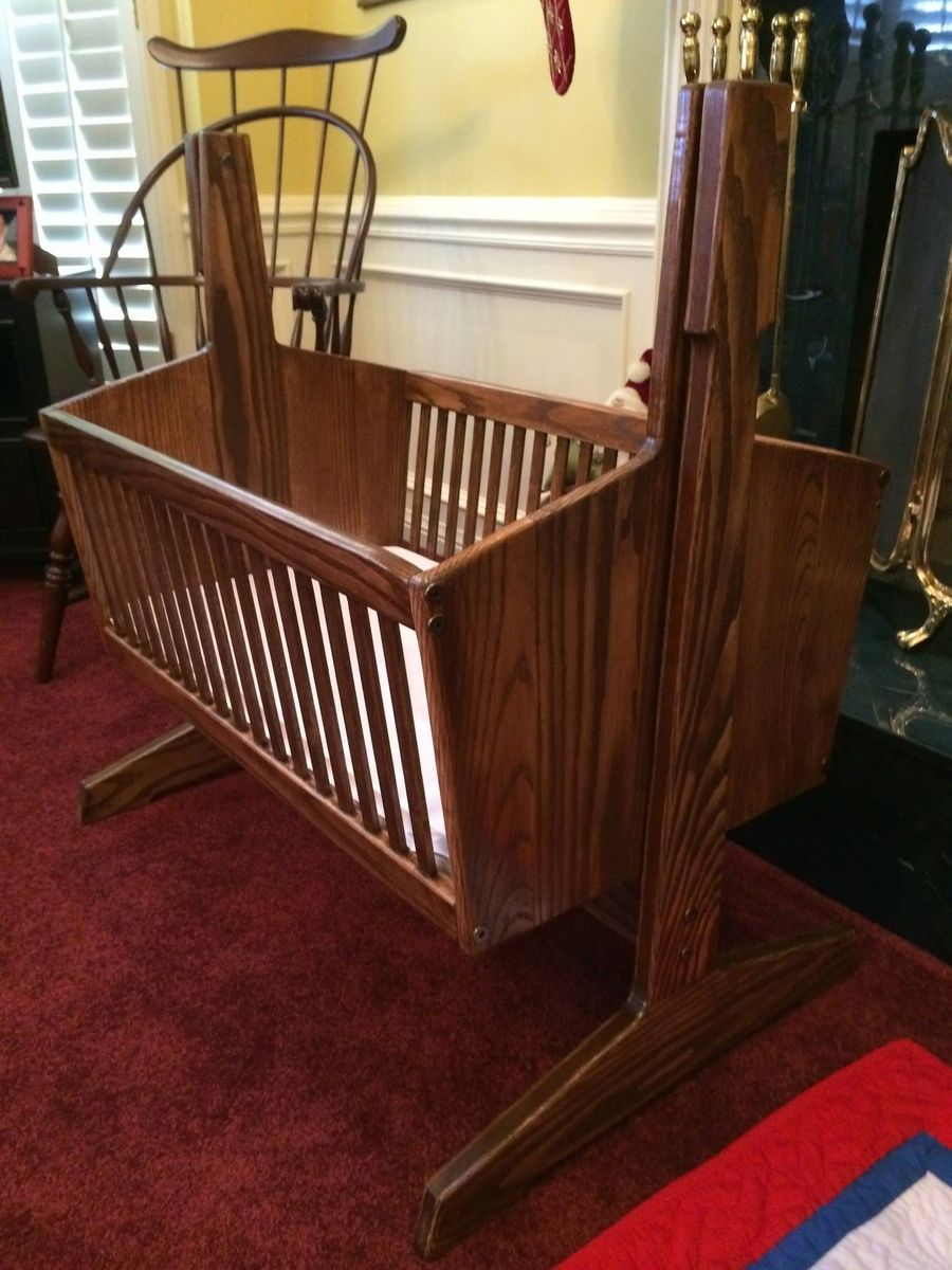 Custom Bassinet By Venia Woodworking Custommade Com