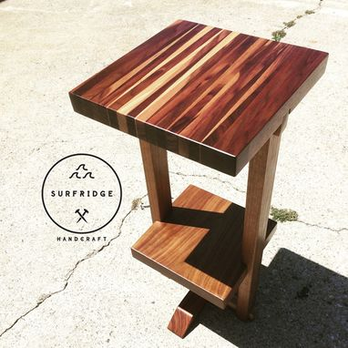 Custom Made Naka Side Table