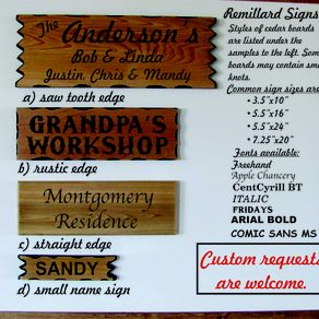 custom signs personalized wood signs custommade com