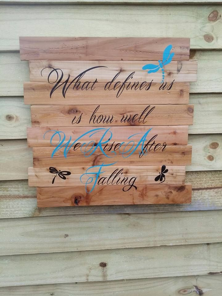 Hand Made Fully Customizable Wall Art And Plaques by Blue Shed ...