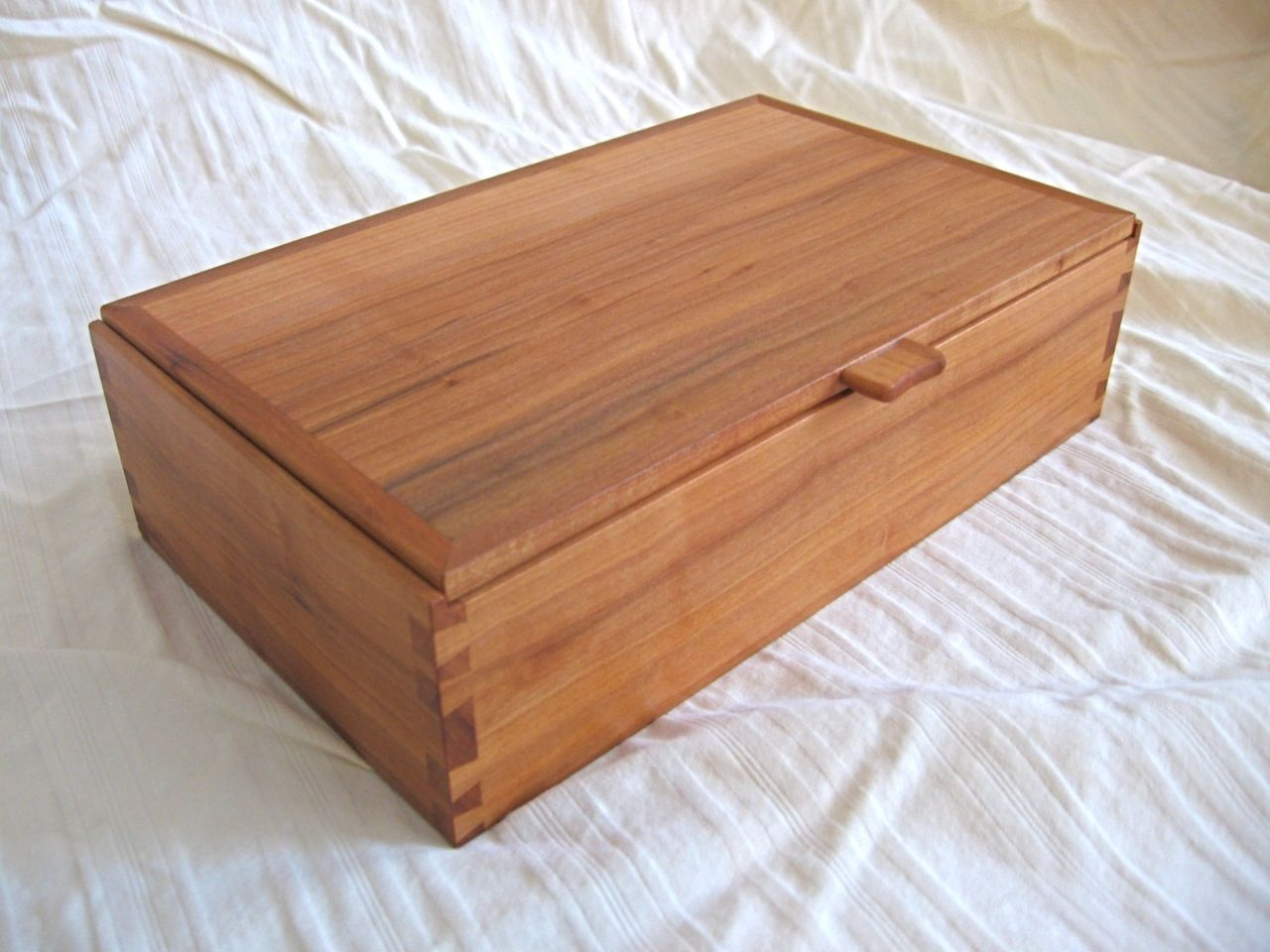 Custom Made Dovetailed Box By Scott King Furniture