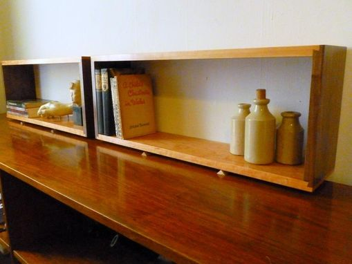 Custom Made Floating Wall Box Shelf Shelving Unit