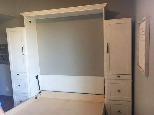 Custom Made Cherry Murphy Bed