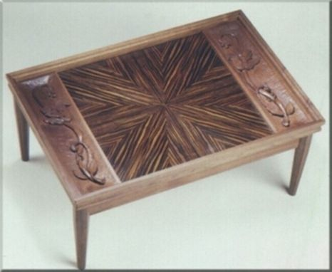 Custom Made Starburst Coffee Table