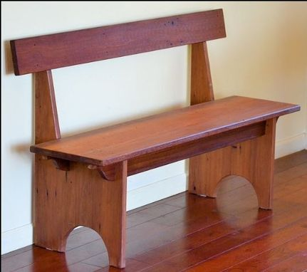 Custom Made Shaker Style Bench