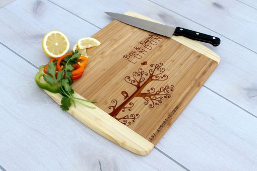 Custom Made Personalized Cutting Board, Engraved Cutting Board, Custom Wedding Gift – Cb-Bam-Bensarahlondon