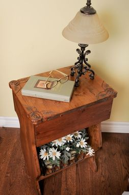 Custom Made Side Table, Remote Table