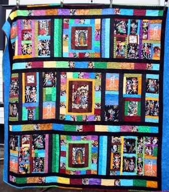 Custom Made Day Of The Dead Custom Design Quilt