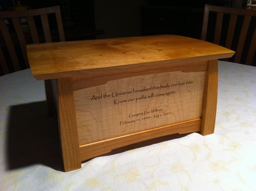 Custom Made Remembrance Box