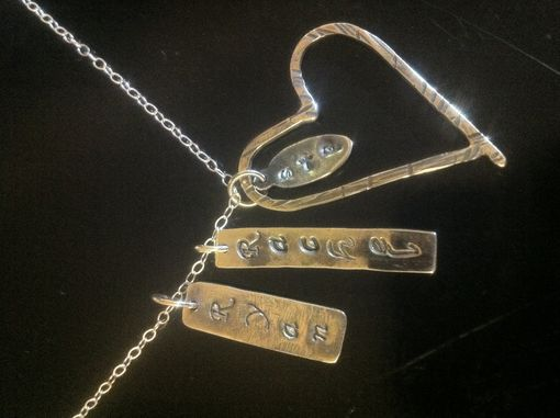 Custom Made Mother's Necklace Sterling Silver