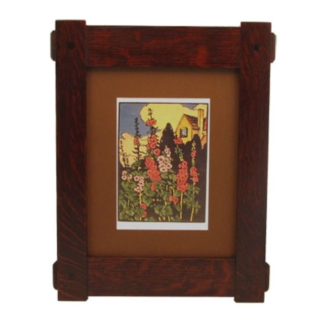 Handmade Craftsman Style Through Tenon Frame By Solid Wood Frames