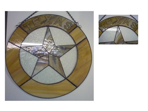 Custom Made Texas Round Star Panel, Ready To Ship
