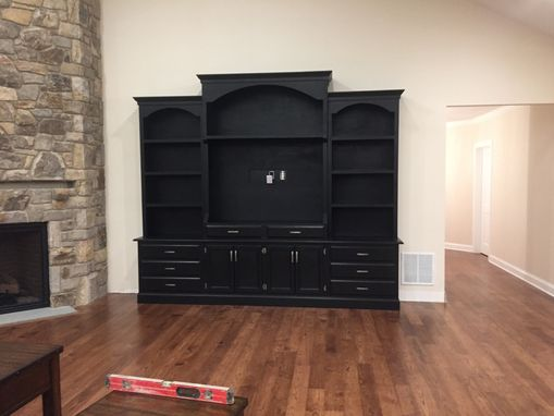 Custom Made Custom Entertainment Center